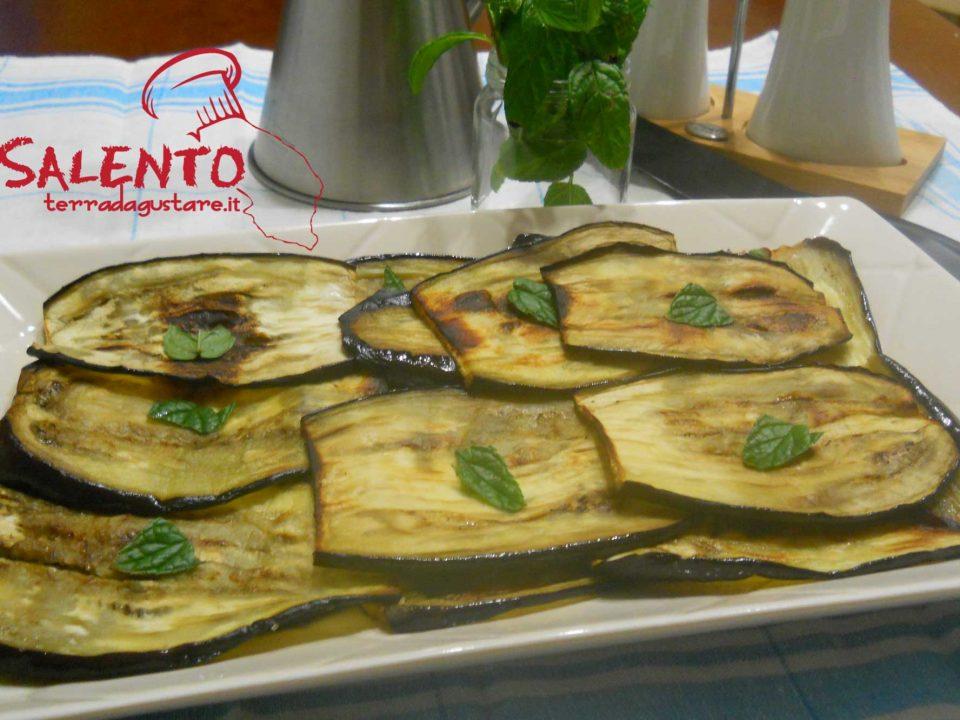 melanzane grigliate al forno-