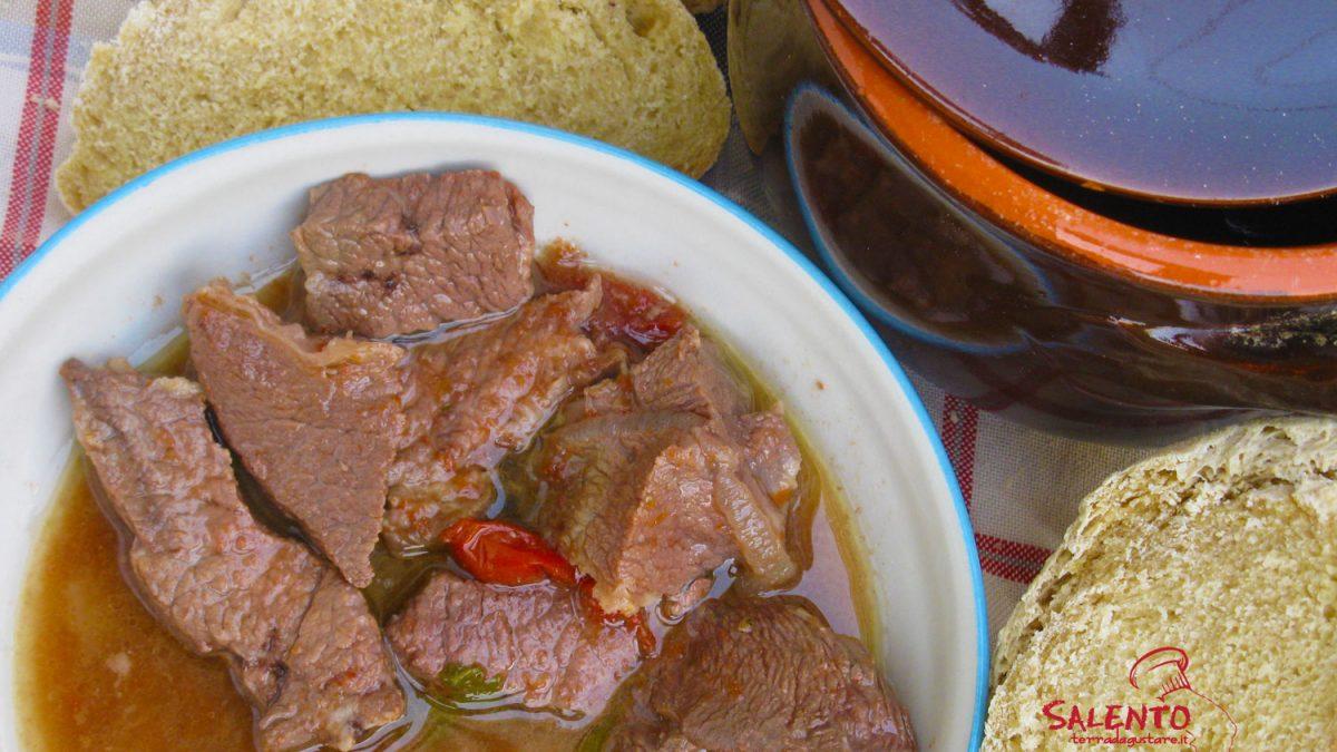pezzetti di carne alla salentina