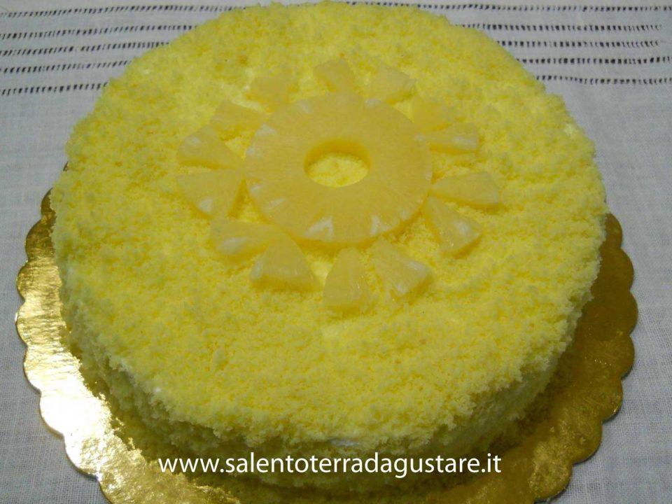 torta mimosa semplice