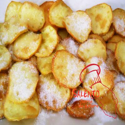 salento terra da gustare: ricette patate zuccherine fritte