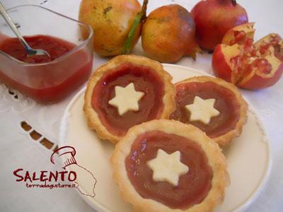 gelatina al melograno