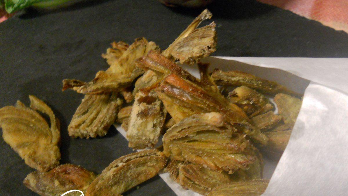 carciofi croccanti al forno