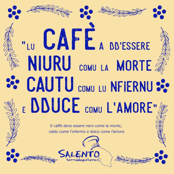 proverbio salentino caffe