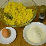 arancini di riso mozzarella e prosciutto : preprazione 1