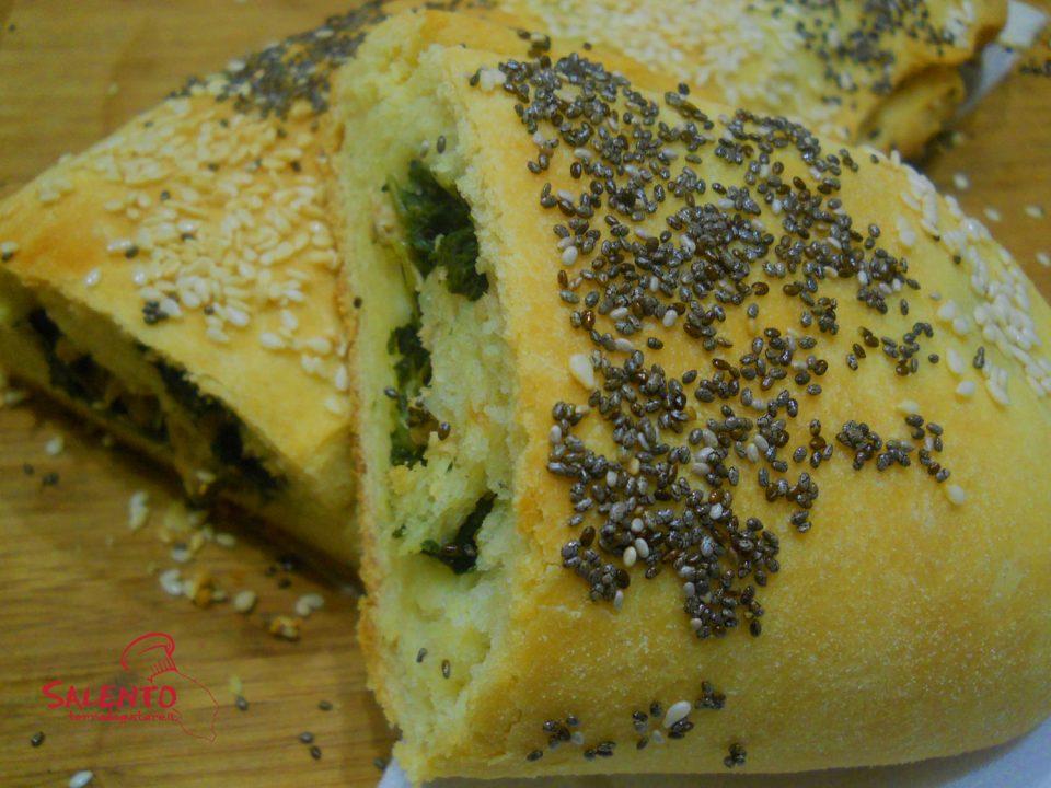 rotolo di pane tonno e spinaci