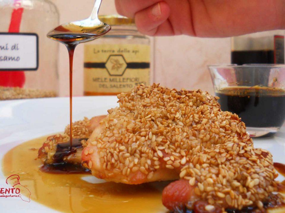 pollo in salsa di soia e miele