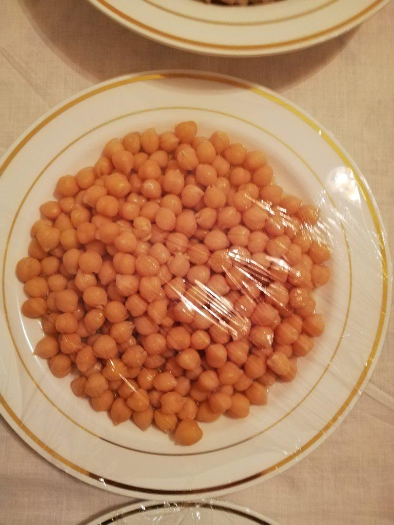 piatti delle tavole di san giuseppe_ceci