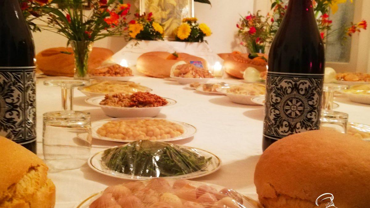 piatti delle tavole di san Giuseppe